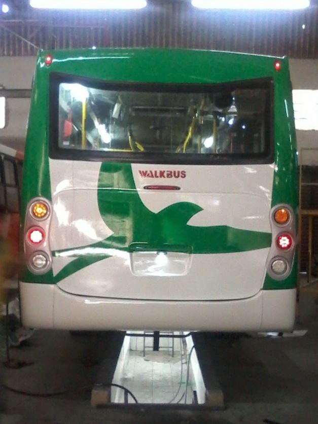 Walkbus Special WB II 8.0 - Nova Traseira que ainda mantem boa parte na geração anterior