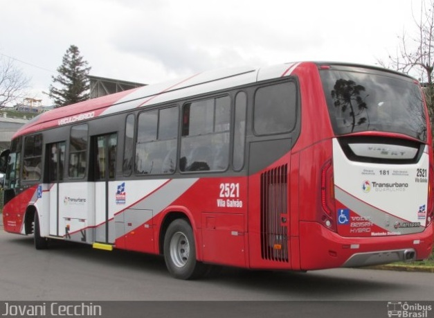 Marcopolo Viale BRT Híbrido - Vila Galvão